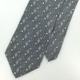 JONES NEW YORK US MADE OVALS Dots GRAY Silk Men Classic Necktie I2-481 EUC Ties