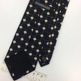 XL 63''ALEXANDER LLOYD Black White DIAMOND HANDMADE Silk Necktie Tie I6-4 New