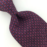 CORPORATE COLLECTION JOS A BANK US Micro GEOMETRIC Red BLUE Necktie I1-277 Ties