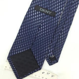 DKNY GRAY NAVY Micro GEOMETRIC DIAMOND Silk Mens Necktie H2-279 Excellent Ties