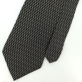 ARROW US MADE BLACK GRAY Checkered Silk Men Classic Necktie I2-416 Ties