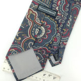 KENNETH ROBERTS US MADE ART NOUVEAU GRAY Silk Men Classic Necktie I2-453 Ties