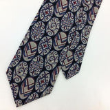 "XL 65"" CHAS REED CO FRIDAY SOLUTIONS USA TIE ART DECO Necktie Tie Ties I7-696"