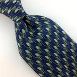 MARK JASON WAVES BLUE GREEN SILK BOYS Children Silk Necktie Ties H3-463 New