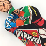 Addiction Baseball Bats Glove Balls Home Run Strike Silk Necktie Ties H3-491 New