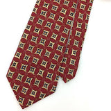 GUESS USA TIE RED Blue Yellow GEOMETRIC Floral Silk Necktie Ties I7-509 New