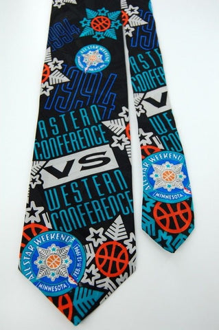 RM STYLE All Star WESTERN CONFERENCE 1994 BLUE NECK TIE Mens #M3-35
