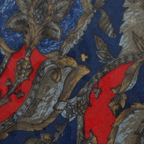 Addison On Madison Handmade Red Gray Blue Silk Men Short Necktie Tie Z2-71