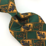 BSL CELTIC TIE COLLECTION IRELAND LIGHT WEIGHT Grn Gold Necktie Ties N4-155 New