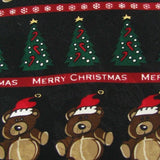 New Pierre Cardin Merry Christmas Holiday Bears Tree Ornament Necktie tie X6-66