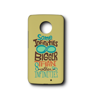 Some Infinities Are Bigger Than Other Infinities- Phone Case Case
