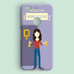 Not Just Clean, Monica Clean - Monica Geller