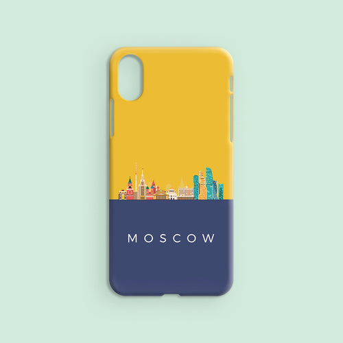 Moscow Skyline - Signature