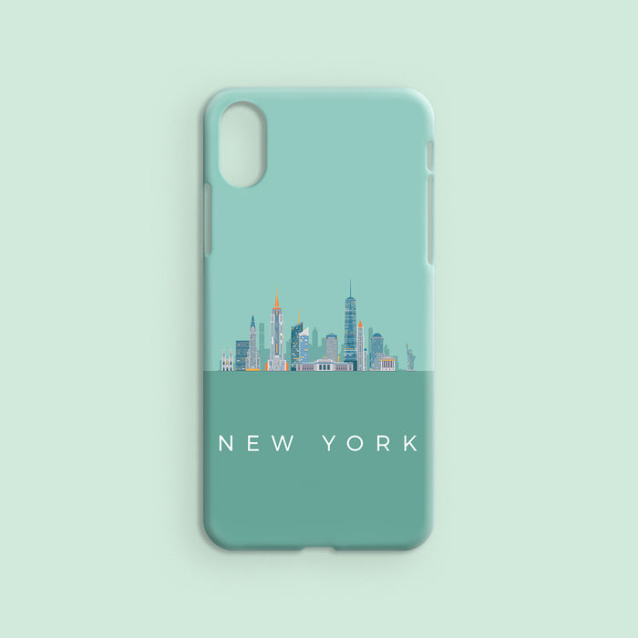 New York Skyline - Tropical