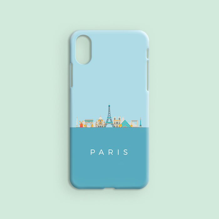 Paris Skyline - Tropical