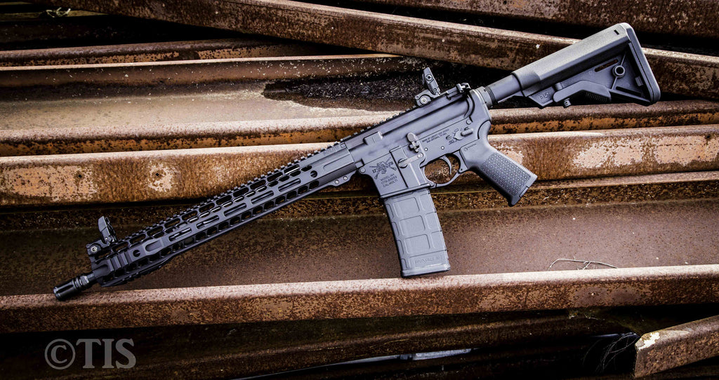 M4-SML Rifle with SOLO M-LOK Liberty Fighting Trigger, QD End Plate ...