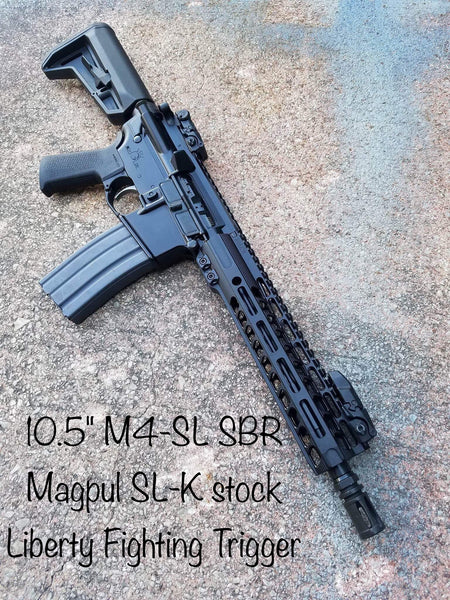 M4-SL Rifle with SOLO Lite M-LOK CUSTOMIZABLE