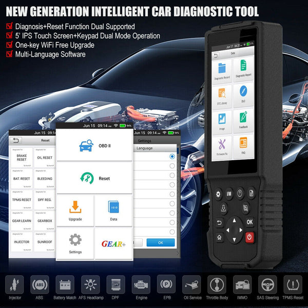 Dodge Diagnostic & DPF Regeneration Tool