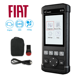 Fiat SRS/Airbag, ABS & Engine Diagnostic Scanner Code Reader
