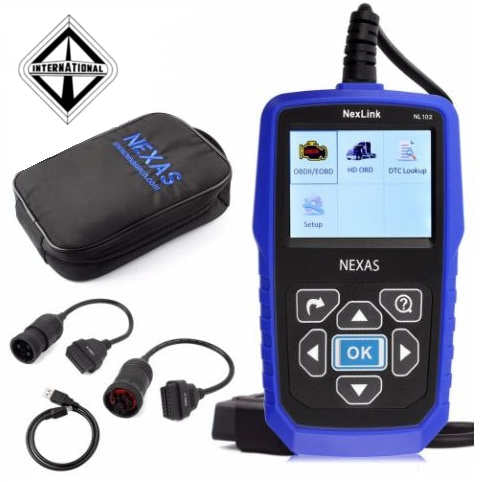 International Trucks Diagnostic Scanner Fault Code Reader