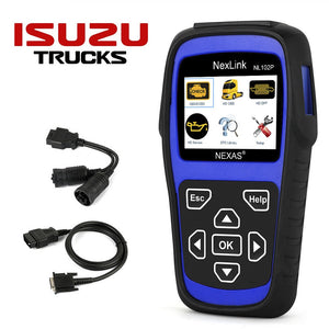 Isuzu Truck Diagnostic Scanner & DPF Regeneration Tool
