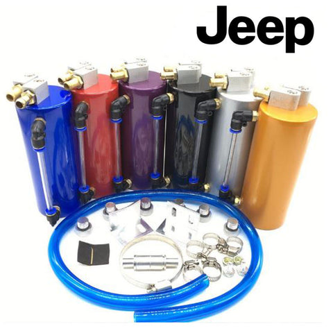 Jeep Oil Catch Can