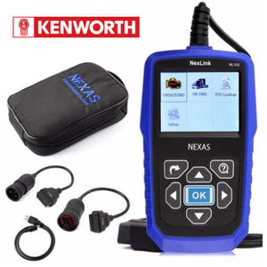 Kenworth Truck Diagnostic Scanner Fault Code Reader