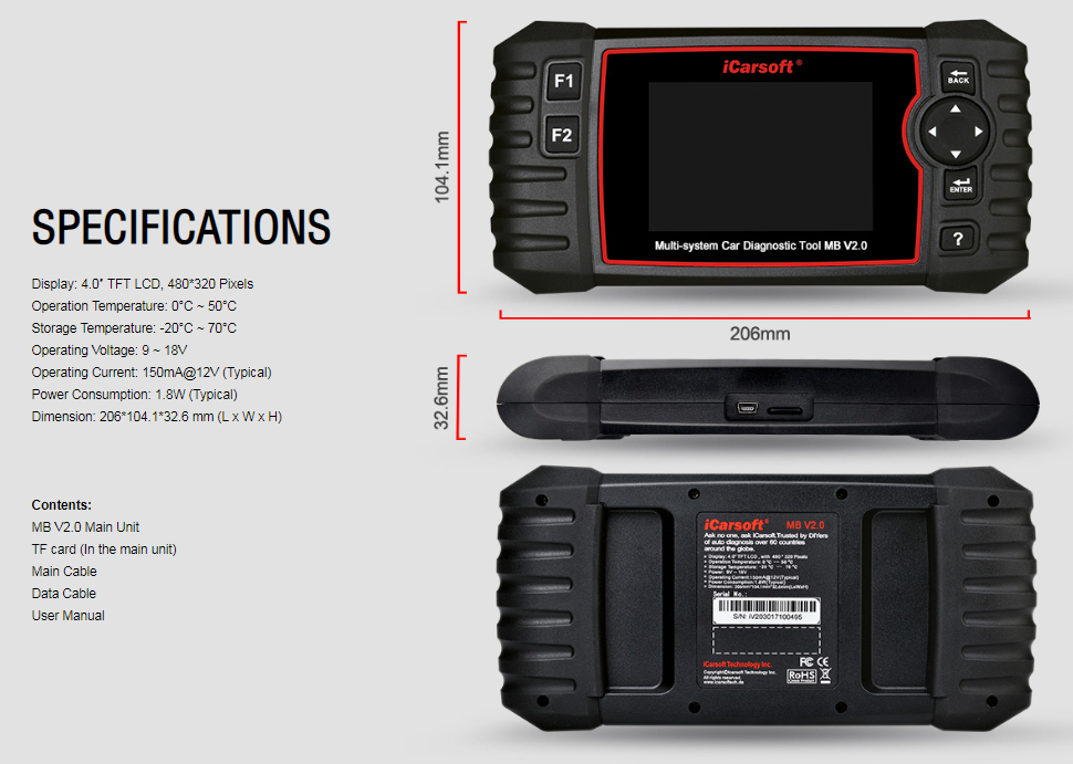Jeep Grand Cherokee Diagnostic Scanner & DPF Regeneration Tool