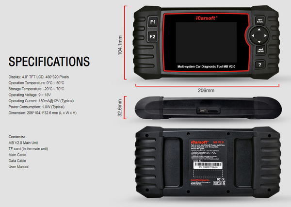 Ford F-Series Diagnostic Scanner & DPF Regeneration Tool