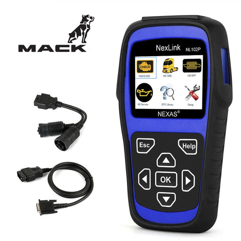 Mack Truck Diagnostic Scanner & DPF Regeneration Tool