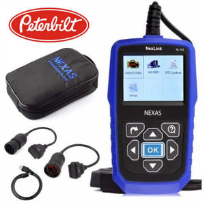 Peterbilt Truck Diagnostic Scanner Fault Code Reader