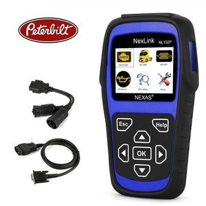 Peterbilt Truck Diagnostic Scanner & DPF Regeneration Tool