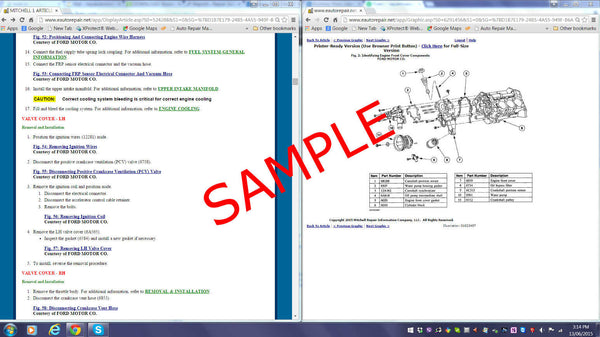 2014 Chevrolet Express 3500 LT Repair Manual (Instant Access)