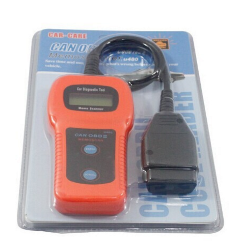 GMC U480 OBD2 Car Diagnostic Scanner Fault Code Reader