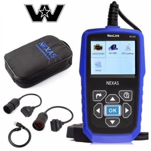Western Star Truck Diagnostic Scanner Fault Code Reader