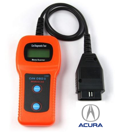 Acura U480 OBD2 Car Diagnostic Scanner Fault Code Reader