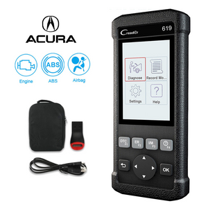 Acura SRS/Airbag, ABS & Engine Diagnostic Scanner Code Reader