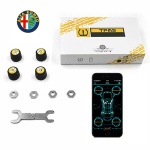 Alfa Romeo Bluetooth Tire Pressure Monitoring System (TPMS)