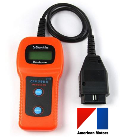 American Motors U480 OBD2 Car Diagnostic Scanner Fault Code Reader