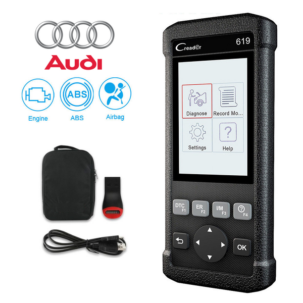 Audi SRS/Airbag, ABS & Engine Diagnostic Scanner Code Reader