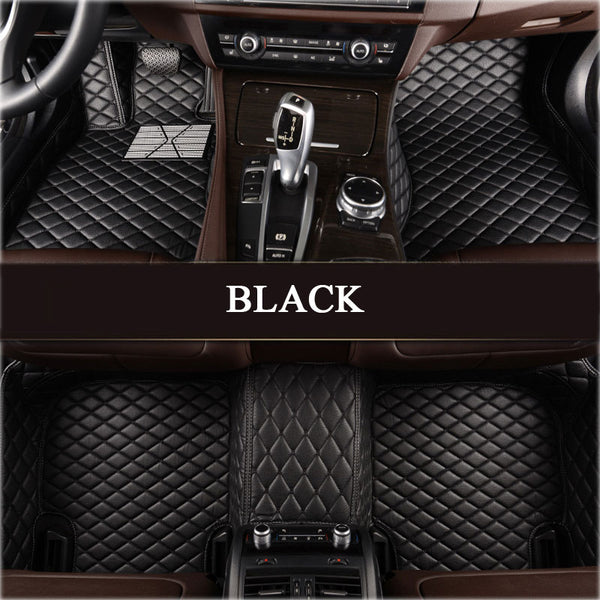 GMC Leather Custom Fit Car Mat Set