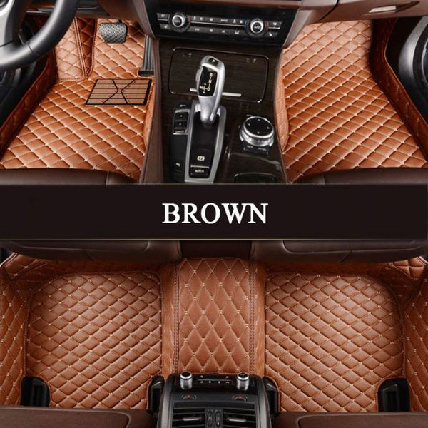 Dodge Leather Custom Fit Car Mat Set