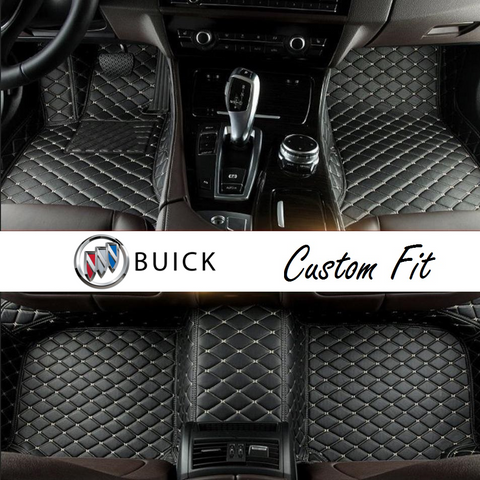 Buick Leather Custom Fit Car Mat Set