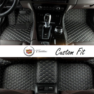 Cadillac Leather Custom Fit Car Mat Set
