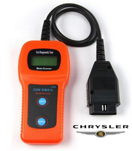 Chrysler U480 OBD2 Car Diagnostic Scanner Fault Code Reader
