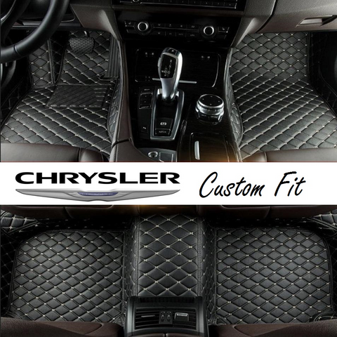 Chrysler Leather Custom Fit Car Mat Set