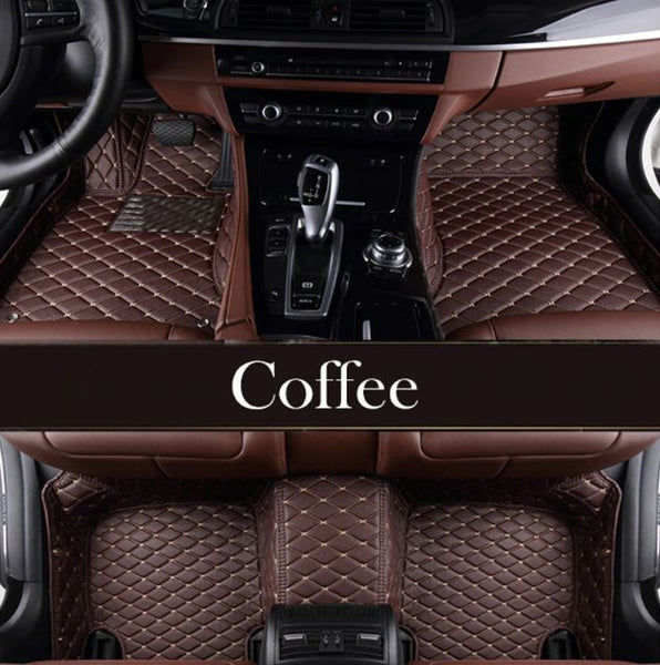 Mercedes Benz Leather Custom Fit Car Mat Set