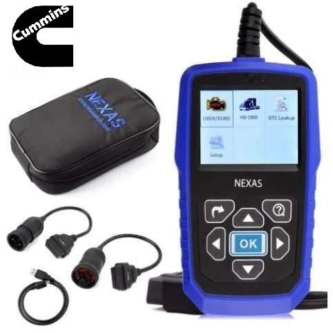 Cummins Engine Diagnostic Scanner Fault Code Reader