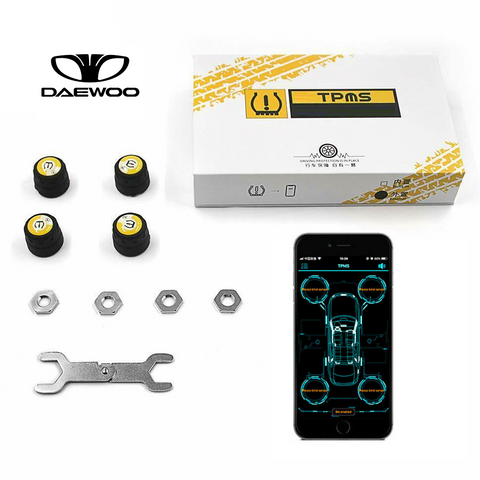 Daewoo Bluetooth Tire Pressure Monitoring System (TPMS)