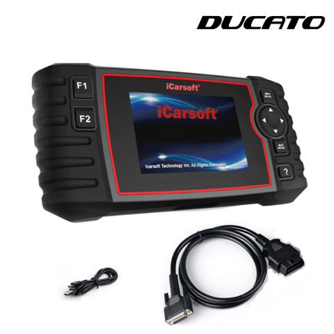 Fiat Ducato Diagnostic Scanner & DPF Regeneration Tool